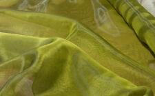 Scampoli di Tessuto Beauty in organza verde