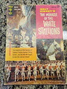 MIRACLE OF THE WHITE STALLIONS, VG (4.0), 1963, Gold Key Comics