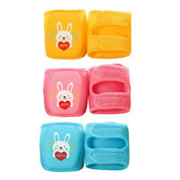 1 Pair Baby Kids Soft Knee Pads Fall-proof Toddlers Baby Crawling Knees Pads CN