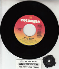"""PEABO BRYSON  Lost In The Night 7"""" 45 rpm vinyl record NEW + jukebox title strip"""