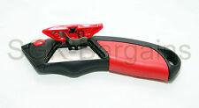 Tasca UTILITY KNIFE Maniglia con costruito in CARTUCCIA N. BLADE TAPPETO grip di raccordo