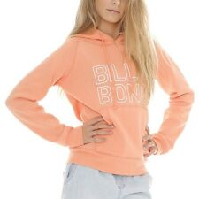 NEW + TAG BILLABONG JUMPIN GIRLS (6) HOODIE JUMPER FLEECE PULLOVER PAPAYA PUNCH