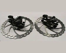 Set freno a disco meccanico ARTEK ADC/06 anteriore e posteriore per bici bike