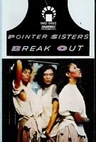 Pointer Sisters ..Break Out . Import Cassette Tape