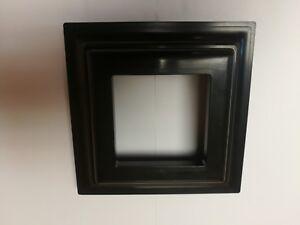 Black Plastic Deck Railing Column Post Base Trim Ring 3 x 3 for PVC Vinyl Wood