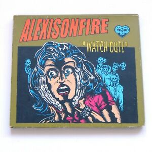 ALEXISONFIRE Watch Out Promo CD Album Canadian Post Hardcore Punk Band 2004