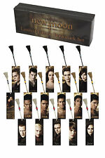 Twilight New Moon Bookmark Set 16 Limited Edition Robert Pattinson Edward Cullen