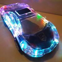 Crystal Lamborghin Car Model Bluetooth Wireless Speakers TF Card Radio subwoofer