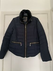 Principles By Ben De Lisi Navy Padded Jacket Size 14