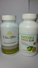 Garcinia Cambogia Slim 90 Capsules 60% HCA Vita Ultra Cleanse Weight Loss Duo.