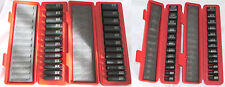 "Tekton 50Pc. 3/8"" Drive 6-Point DEEP/SHALLOW Impact Socket Set SAE/METRIC"