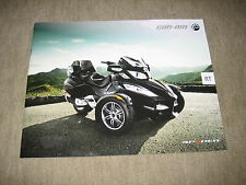 BRP CAN-AM Spyder RT/RS SPYDER prospetto brochure di 2009, 32 pagine