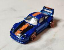 Porsche 993 GT2 Blue Coupe 911 Hot Wheels 1:64 Diecast model car MINT LOOSE