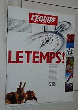 EQUIPE MAGAZINE N°922 SPECIAL AN 2000