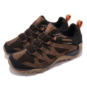 Merrell Alverstone GTX Brown Gore-Tex Men Outdoors Hiking Shoes J36737