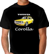 TOYOTA   KE20  COROLLA   COUPE  QUALITY BLACK TSHIRT   (7 CAR COLOURS )