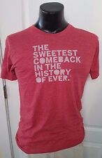 HOSTESS ADULT RED T SHIRT SWEETEST COMEBACK IN HISTORY OF EVER TWINKIES MEDIUM