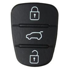 3 Button Remote Key Fob Case Shell Rubber Pad For Hyundai I10 I20 I30 Flip Key