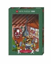1000PIECE JIGSAW PUZZLE HY29702 - Heye Puzzles - Cartoon - Hurry Up! Mordillo