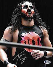 Tama Tonga Signed 8x10 Photo BAS New Japan Pro Wrestling Guerrillas of Destiny 1