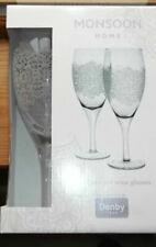 Denby Monsoon Filigree Red Wine Pair Gift Set