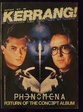 Kerrang Issue 97 Glenn Hughes Tom Galley Malmsteen