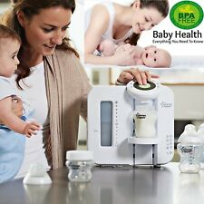 Tommee Tippee Closer To Nature Perfect Prep Baby Bottle Machine Filters Free PBA