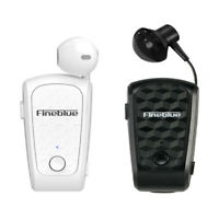Fineblue Hifi Wireless Headset Clip-on Earphone 10 Hours Talking Bluetooth 5.0