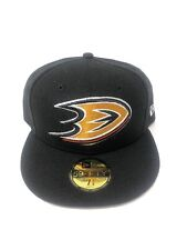 big sale d480a 46eb3 59fifty New Era NHL Anaheim Ducks Fitted Hat Cap Size 7 3 8