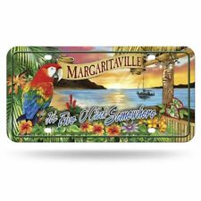 Margaritaville 5 O'clock Sunset 12x6 Auto Metal License Plate Tag CAR TRUCK