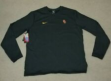 Nike Usc Long Sleeve Black Large Official Football Onfield Apparel (927696-011)