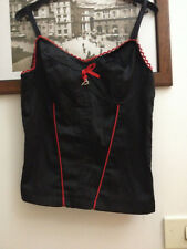 AKE' TG M TOP corsetto SOTTOGIACCA NERO MADE IN ITALY