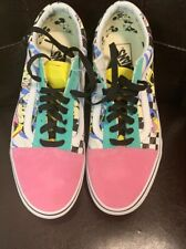 Vans Old Skool Disney Mickey Mouse Mens Sz 10 No Tags But Never Worn
