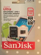 SanDisk Elite 128GB Ultra Performance Micro SDXC Memory Card