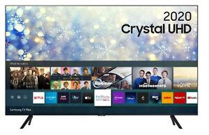 "SAMSUNG UE75TU8000KXXU 75"" Inch 2020 Crystal UHD 4K HDR Smart TV Netflix Prime"