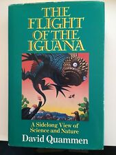 David Quammen, The Flight of the Iguana, 1988, 1st Ed., VG/F