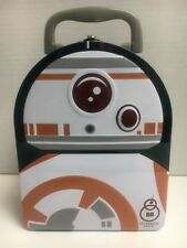 STAR WARS Force Awakens  Lunch Box BB8 Embossed Metal Tin Arch -  Brand New