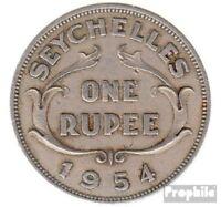 Seychellen KM-Nr. : 13 1971 vorzüglich Kupfer-Nickel 1971 1 Rupee Elizabeth II.