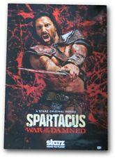 Manu Bennett Signed Autographed Movie Poster Spartacus GV907026