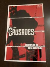 DC Vertigo Comics The Crusades Urban Decree 2001 TPB