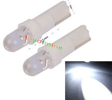 T5 Car 37 58 70 73 74 Gauge Blanca Dashboard cuña de luz LED Bombilla