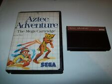 "Aztec Adventure ""Original Sega Master System Game"""