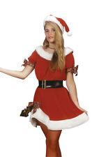 Miss Santa Claus Dress Women Christmas Costume-Standard ( Size 8-12 )