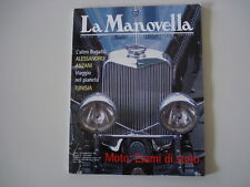 LA MANOVELLA 1-2/2001 ALLARD J2X/CIARELLI 750 BMW/SQUIRE SUPERCHARGED