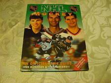 BEAUTIFUL HC Book 1999 NHL Hockey Official Fans Guide, Jaromir Jagr, NICE!!