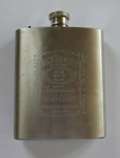 New listing Jack Daniel's Whiskey Stainless Stell Hip Flask 7oz