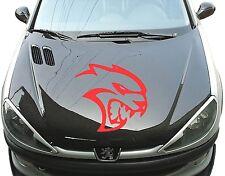 SRT R/T TESTA Adesivo AUTO Lunotto posteriore Messa punto Cofano Dodge