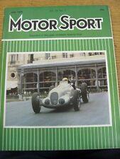 Jul-1979 MOTOR SPORT MAGAZINE: SETTIMANALE AUTOMOBILISMO Giornale Vol LV No.7 - DO