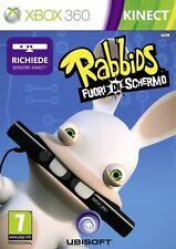 Rabbids - Fuori di Schermo (Kinect) XBOX360 USATO ITA