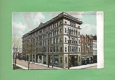 STEELE MEMORIAL BUILDING In ELMIRA, NY On Vintage 110 Year-Old Unused Postcard